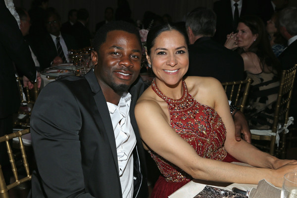 Sophia Adella Luke with her actor husband Derek Luke