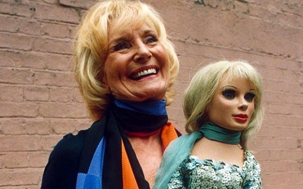 TV producer Sylvia Anderson