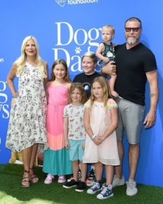 10 most adorable Instagram photos of Tori Spelling with her husband and children