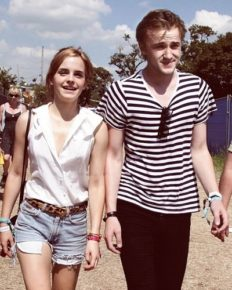 Is Emma Watson dating actor Tom Felton?