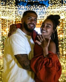 Singer Leigh-Anne Pinnock is engaged to boyfriend soccer star Andre Gray!