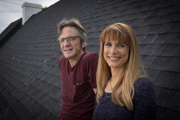 Marc Maron and partner Lynn Shelton