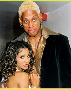 American Singer-songwriter Toni Braxton denies any relationship anytime with NBA star Dennis Rodman!