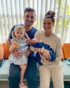 Tanner Tolbert and Jade Roper Tolbert announce the third pregnancy of Jade!
