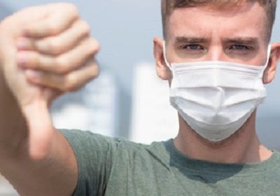 Why some people are against face mask wearing in public places during the current coronavirus pandemic?