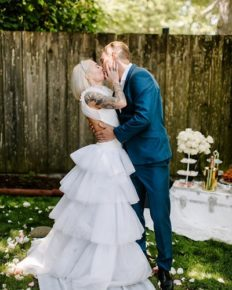 American athlete Nick Symmonds weds his fiancee Tiana Baur!