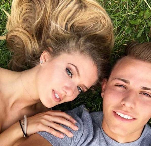 Alica Schmidt and boyfriend Fredi Richter