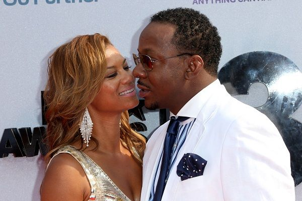 Alicia Etheredge and Bobby Brown
