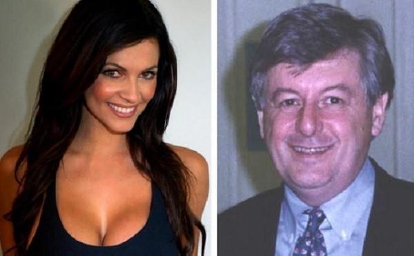 Denise Milani with nice, Husband Jerry Trlica
