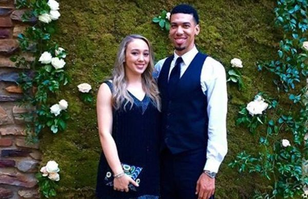 Blair Bashen and fiance Danny Green