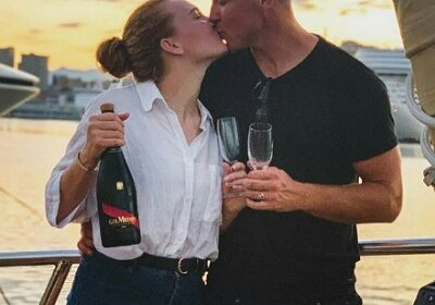 First mate Paget Berry and Ciara Duggan are engaged!