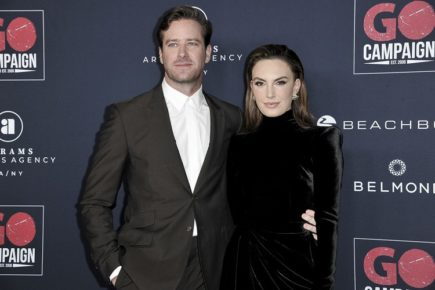Actor Armie Hammer and TV personality wife Elizabeth Chambers separate after ten years of marriage and two children!