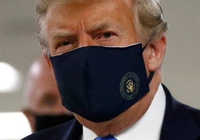 Donald Trump states that he will not force his citizens to wear face masks in public!
