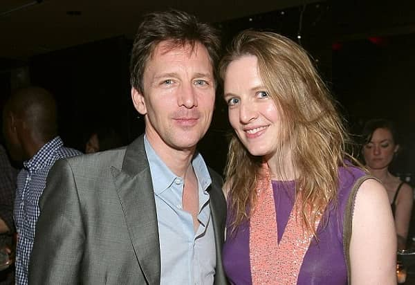 Dolores Rice and Andrew McCarthy