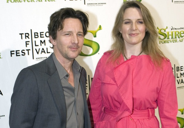Dolores Rice and husband Andrew McCarthy