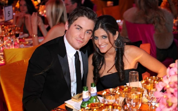 Jamie Feld and Kevin Zegers