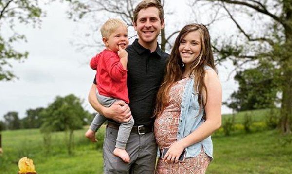 Joy-Anna Duggar and Austin Forsyth with their son