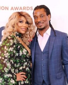 Tamar Braxton, singer, 43 thanks her boyfriend David Adefeso for saving her life!