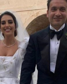 Valerie Abou Chacra, Lebanon's former beauty queen defies wedding bans and gets married to businessman Ziyad Ammar!