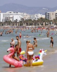 Two-thirds to half of European holiday-makers will cancel their trips if a face mask, quarantine, and testing is made mandatory!