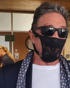 John McAfee, computer programmer detained for wearing a thong in place of the face mask! Is it true?