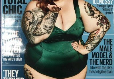 Tess Holliday, plus size model has divorced her husband of five years, Nick Holliday!