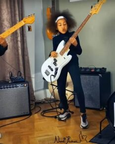 10 year old drummer Nandi Bushell battled with Dave Grohl? Know about her parents, social media, YouTube and biography