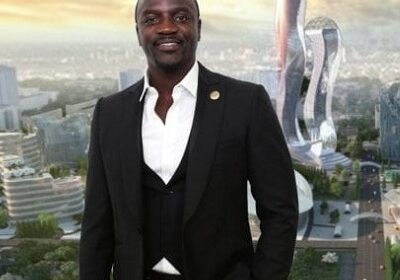 Akon, Senegalese-US singer lays the first foundation stone for futuristic smart Akon City in Senegal!