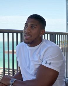 Married to boxing-Therefore, Anthony Joshua has no time for dating!