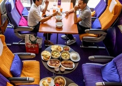 Plane cafes! The concept in Thailand has taken off well and guests are happy with the experience!