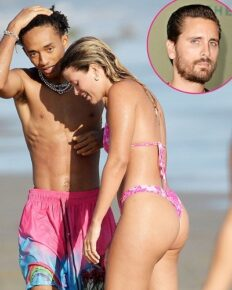 Sofia Richie gets intimate with Jaden Smith on a beachy day in LA!