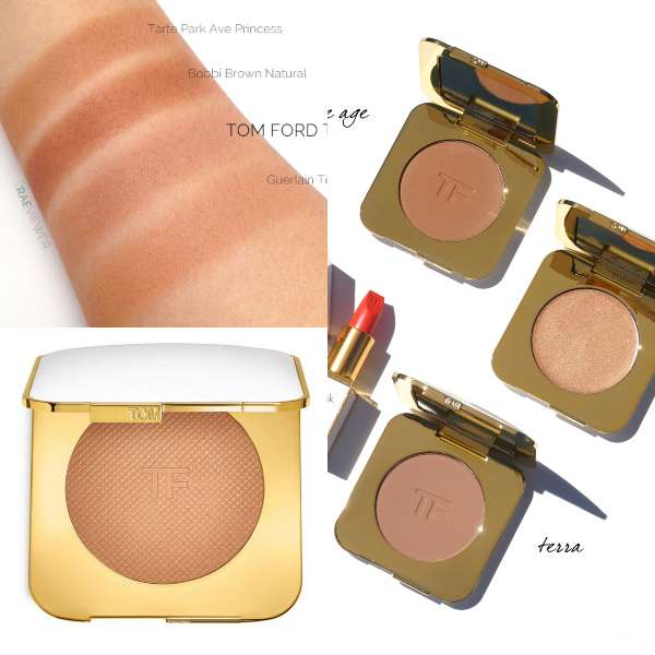 Tom Ford bronzer to matify make up look